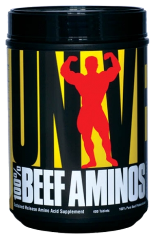 Universal Nutrition 100% Beef Aminos (400 таб)