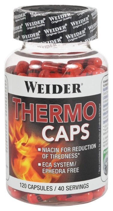 Weider термогеник Thermo Caps (120 шт.)