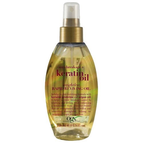 OGX Легкое кератиновое масло против ломкости волос Мгновенное восстановление, 118 млМаски и сыворотки<br>