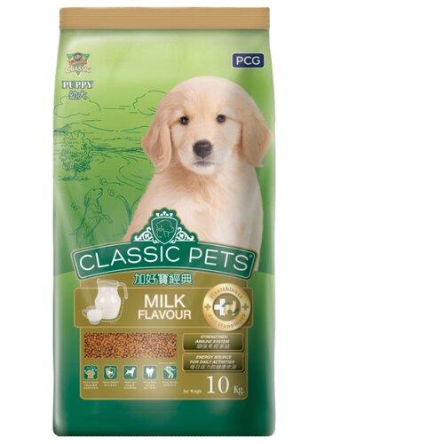 Корм для собак Classic Pets (10 кг) Сухой корм для щенков всех пород с курицей и молоком