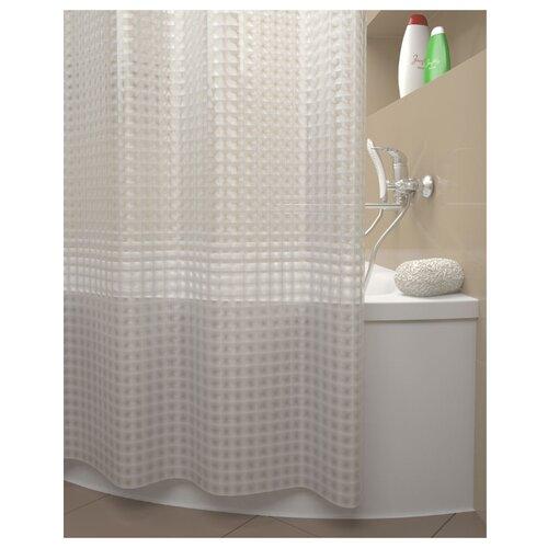 Штора для ванной IDDIS 500E18Si11 180x200 прозрачный штора для ванной iddis basic 180x200 белая b53p218i11