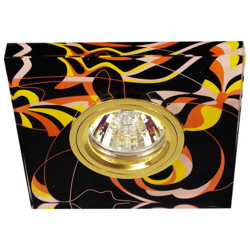 Встраиваемый светильник De Fran FT 791, золото / черныйВстраиваемые светильники<br>
