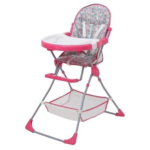 Стульчик для кормления Polini 252 последний богатырь принцесса розовый стульчик для кормления inglesina my time цвет sugar az91k9sgaru