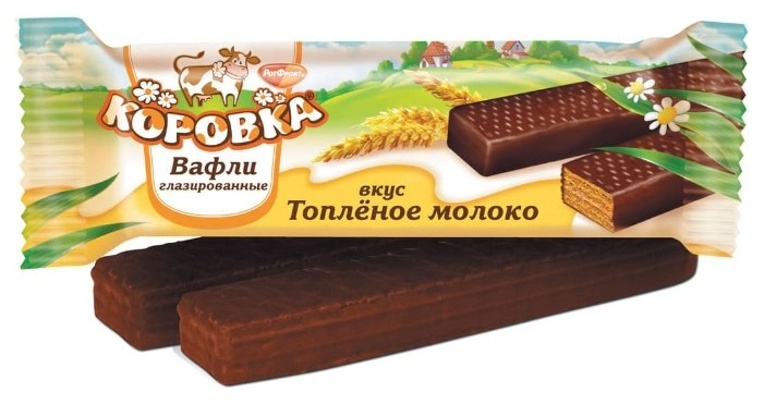 Вафли Коровка со вкусом Топленого молока 50 г