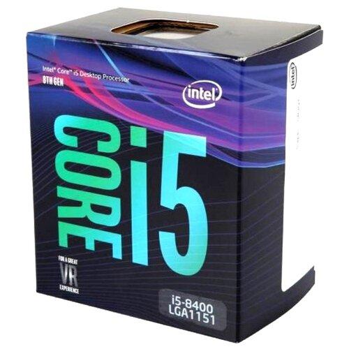 Купить Процессор Intel Core i5-8400 Coffee Lake (2800MHz, LGA1151 v2, L3 9216Kb) BOX