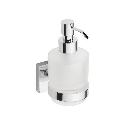 Дозатор для жидкого мыла BEMETA Beta 132109102, белый/хром дозатор для жидкого мыла bemeta beta 132109102 белый хром