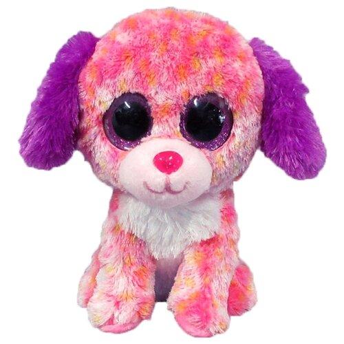 Купить Мягкая игрушка Yangzhou Kingstone Toys Собачка светло-розовая 15 см, Мягкие игрушки