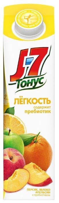 Нектар J7 Тонус Легкость Апельсин-Яблоко-Персик, без сахара