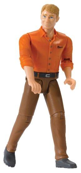 Игровой набор Bruder Мужчина в коричневых джинсах 60-007