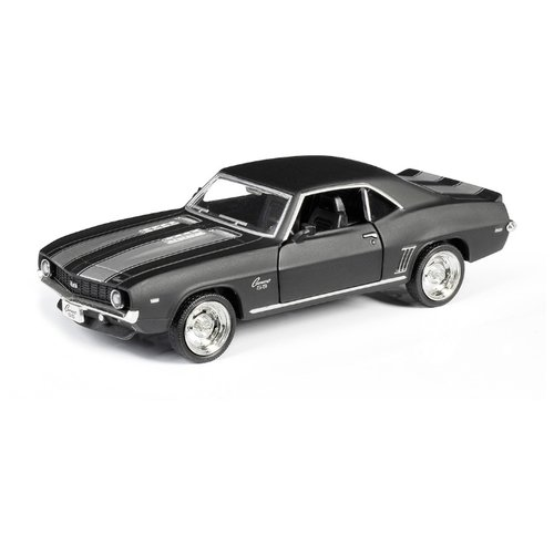 Купить Легковой автомобиль RMZ City Chevrolet Camaro SS 1969 (554026) 1:32 матовый серый, Машинки и техника