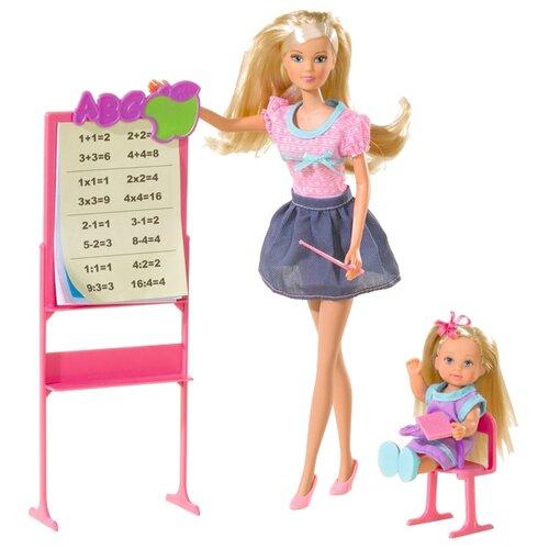 Набор кукол Steffi Love Штеффи-учитель и Еви-ученица, 29 см, 5730472