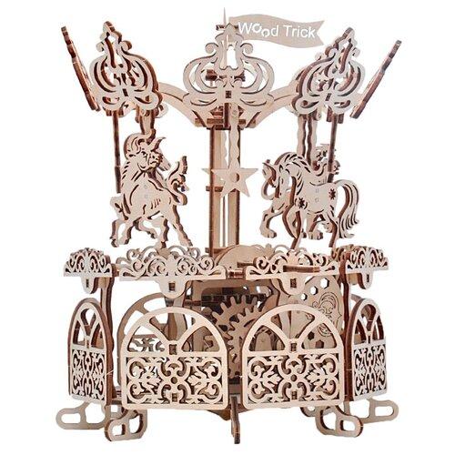Сборная модель Wood Trick Карусель (1234-11)