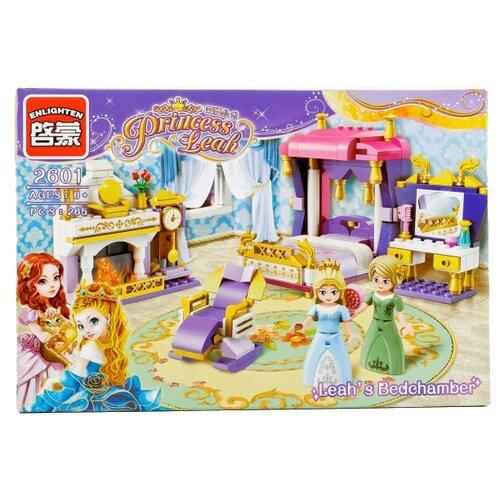 Конструктор Qman Princess Leah 2601 Спальня принцессы