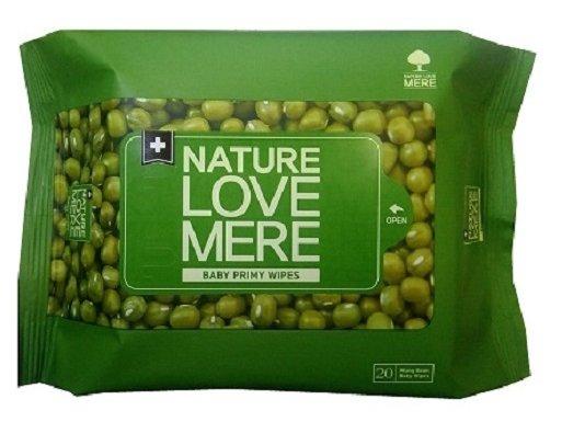 Влажные салфетки Nature Love Mere Mung Bean Wet Tissue