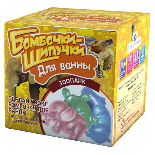 Инновации для детей Бомбочки-Шипучки. Зоопарк клоран гель для детей