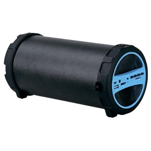 цена на Портативная акустика Hyundai H-PAC220 черный / голубой