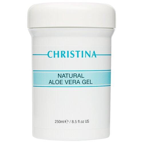 Christina Natural Aloe Vera Gel Натуральный гель для лица с алоэ вера, 250 мл beauty style гель активный аква гель алоэ вера active gel aqua gel aloe vera 500 мл