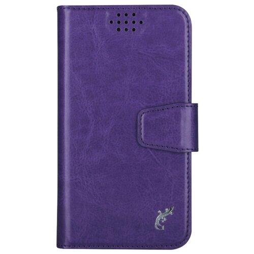 Чехол-книжка универсальный G-Case Slim Premium (GG-759/GG-760/GG-761/GG-762/GG-763/GG-764/GG-765/GG-766/GG-767/GG-768) фиолетовый