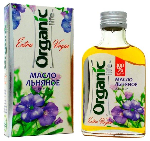 Льняное масло Organic 100 мл