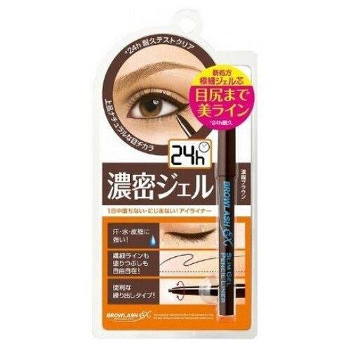 BCL Водостойкий гелевый карандаш Browlash Ex, оттенок коричневый недорого