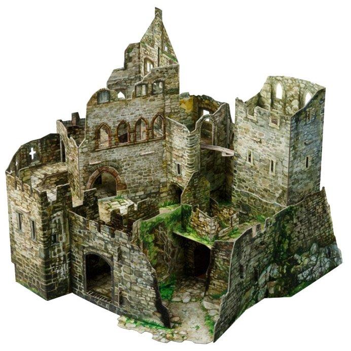 Сборная модель Умная Бумага Руины замка (479),,