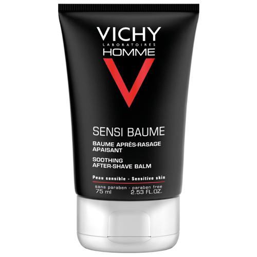 Бальзам после бритья смягчающий Sensi Baume Vichy, 75 мл пена для бритья vichy vichy vi055lwukq71