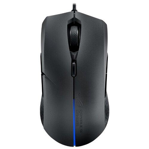 Мышь ASUS ROG Strix Evolve черный монитор asus rog strix xg27vq 27 черный