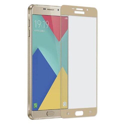Защитное стекло CaseGuru для Samsung Galaxy A5 (2016) gold