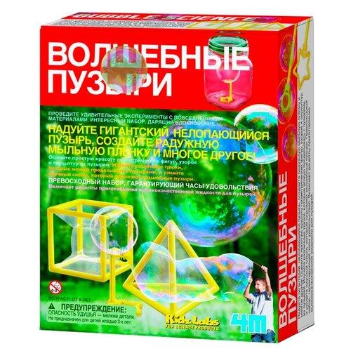 Набор 4M Волшебные пузыри, Наборы для исследований  - купить со скидкой