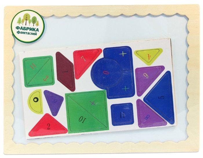 Доска для рисования детская Фабрика Фантазий с пазлами (41780)
