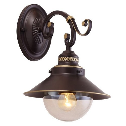 Настенный светильник Arte Lamp Grazioso A4577AP-1CK, 60 Вт бра arte lamp bene a9179ap 1ck