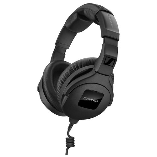 Наушники Sennheiser HD 300 Pro, black охватывающие наушники sennheiser hmd 300 pro black