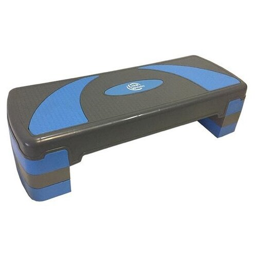 Степ-платформа Lite Weights 1810LW 79.5х30х20 см серый/голубой