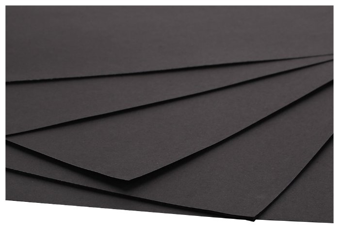 Цветной картон крашенный в массе 1,5 мм, 1015 гр/м2 Decoriton, 30х30 см, 5 л.