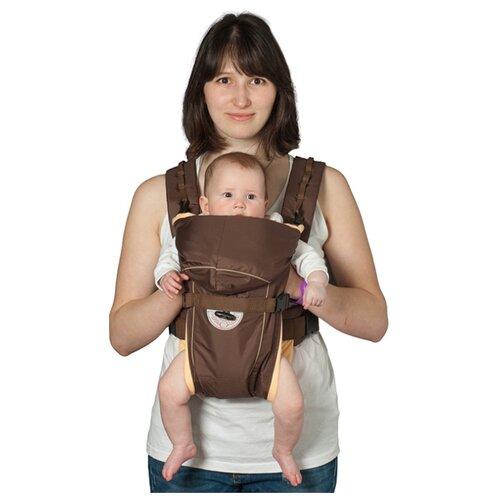 Рюкзак-переноска Чудо-Чадо BabyActive Simple шоколадный чудо чадо рюкзак кенгуру babyactive choice неон цвет синий