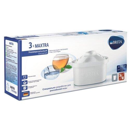 Brita Картридж Maxtra Универсальный, 3 шт.Картриджи и сменные элементы для фильтров<br>