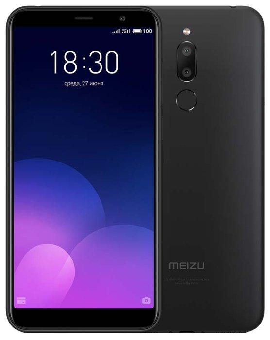 Сотовый телефон Meizu M6T 16Gb Black