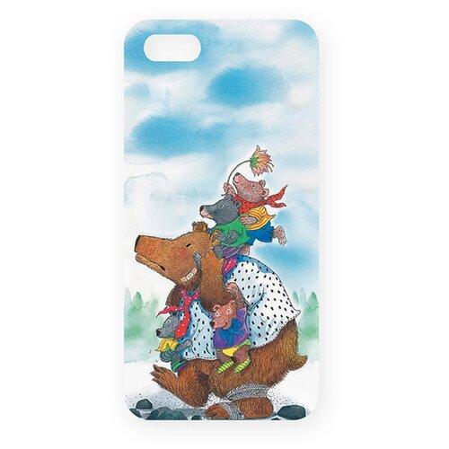 Чехол Mitya Veselkov IP5.МITYA-169 для Apple iPhone 5/iPhone 5S/iPhone SE медведица с медвежатами mitya veselkov ежик в молочном тумане чехол для apple iphone 5 5s