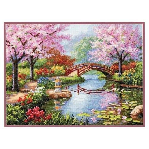 Купить Dimensions Набор для вышивания Japanese Garden (Японский сад) 40, 6 х 30, 4 см (70-35313), Наборы для вышивания