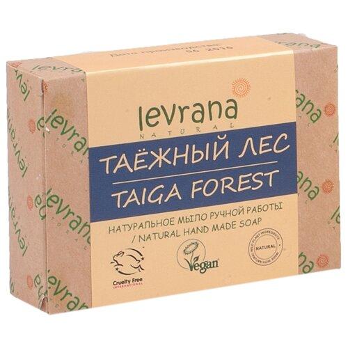 Мыло кусковое Levrana Таежный лес натуральное ручной работы 100 гМыло<br>
