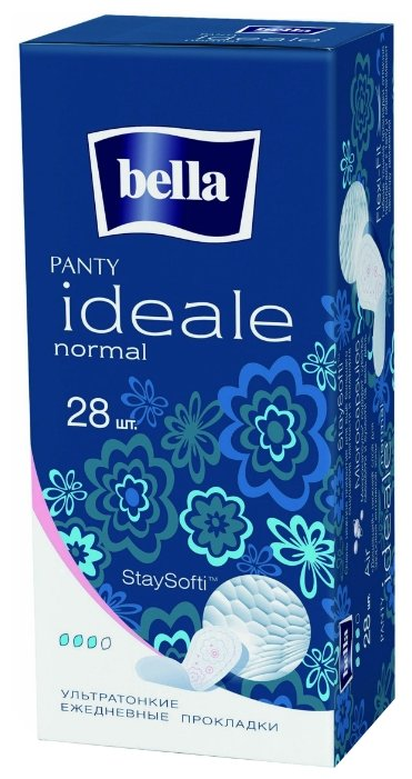 прокладки BELLA PANTY Ideale normal 28 шт. ежедневн.