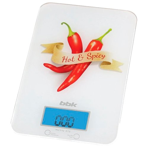 цена на Кухонные весы BBK KS106G белый/красный