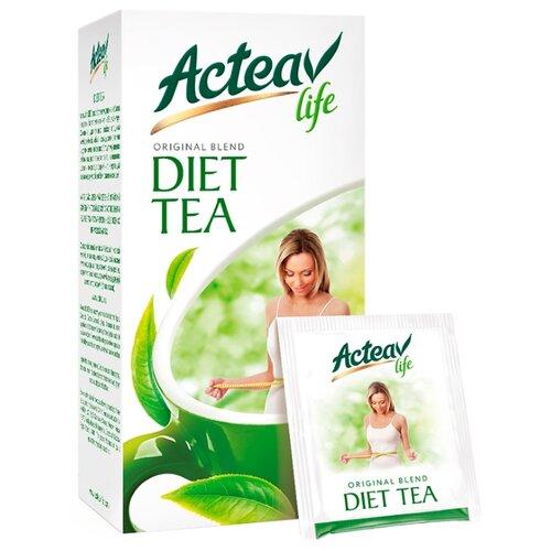 Чай зеленый Acteav life Diet в пакетиках, 25 шт. чай acteav life диета 25 пак х 2г