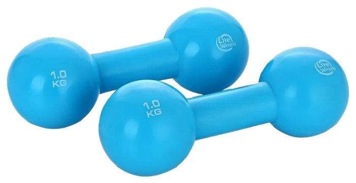 Набор гантелей цельнолитых Lite Weights 3967EG 2x1 кг