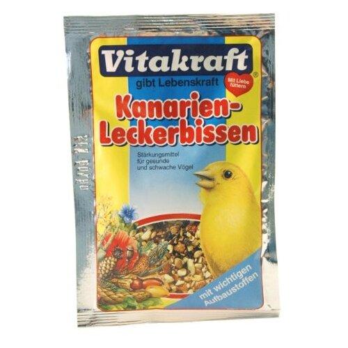 Добавка в корм Vitakraft для канареек минеральная 30 гВитамины и добавки для птиц<br>