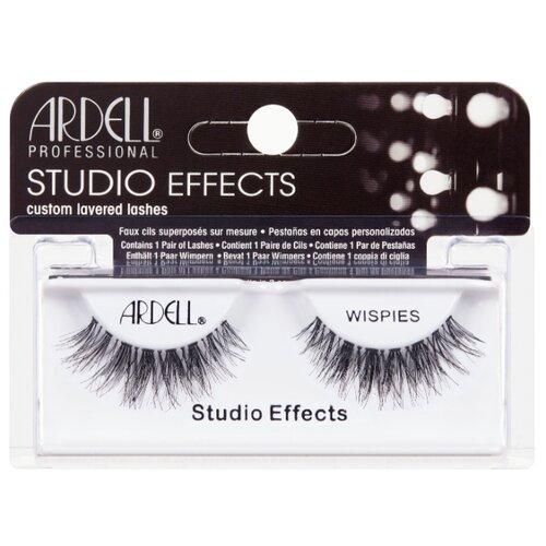 Ardell накладные ресницы Studio Effects Wispies черный ardell магнитные накладные ресницы magnetic lashes double wispies черный