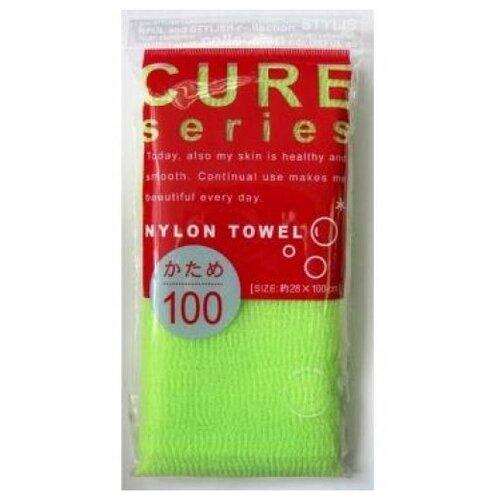 Купить Мочалка OH:E Cure series жесткая (100 см) зеленая