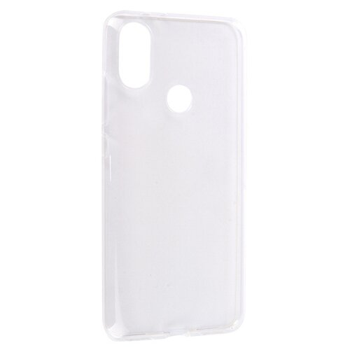 Чехол Media Gadget ESSENTIAL CLEAR COVER для Xiaomi Mi 8 прозрачный чехол накладка brosco для xiaomi mi 8 прозрачный