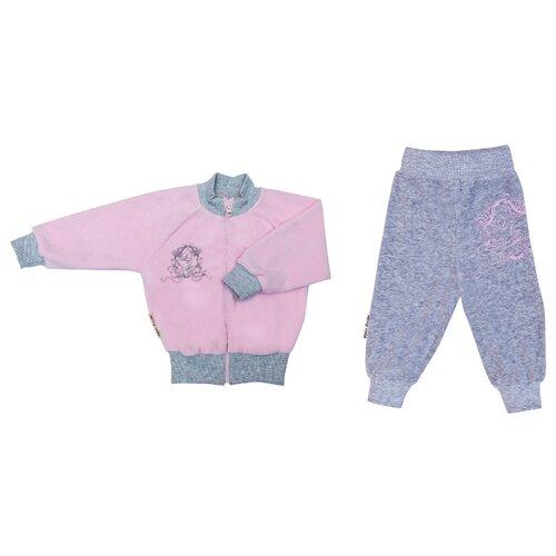 Купить Комплект одежды lucky child размер 28 (98-104), розовый, Комплекты и форма