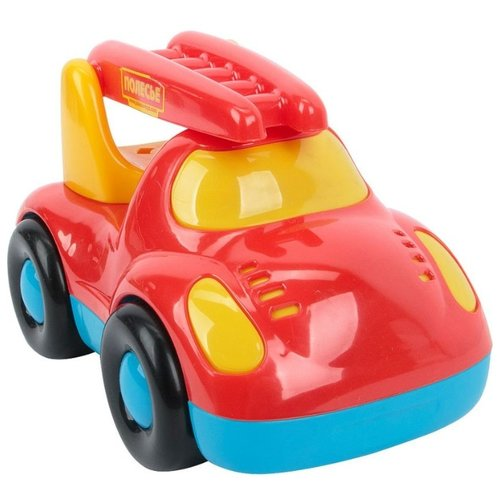 Фото - Пожарный автомобиль Полесье Дружок (67876) в коробке 21.5 см полесье набор игрушек для песочницы 468 цвет в ассортименте